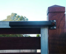 Hydraulic Slide Arm Closing System Adapted to suit