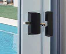 Lockwood surface mounted sliding door latch